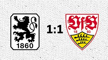 1860 München - VfB Stuttgart 1:1 (Fotografik: STUGGI.TV)