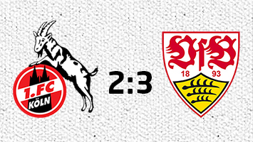 1. FC Köln - VfB Stuttgart 2:3 (Fotografik: STUGGI.TV)