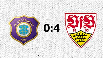 Erzgebirge Aue - VfB Stuttgart 0:4 (Fotografik: STUGGI.TV)