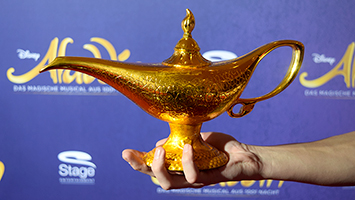 Heute feierte das neue Musical Aladdin Premiere im Stuttgarter SI-Centrum (Foto: STUGGI.TV)