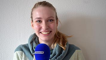 Die UN-Jugenddelegierte Anaïck Geißel im Interview. (Foto: STUGGI.TV)