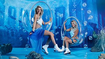 Bei der aktuellen Eis-Show von Holiday On Ice geht die Insel Atlantis unter. (Foto: Holiday On Ice)