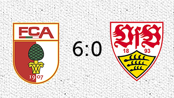 FC Augsburg - VfB Stuttgart 6:0 (Fotografik: STUGGI.TV)