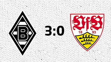Borussia Mönchengladbach - VfB Stuttgart 3:0 (Fotografik: STUGGI.TV)