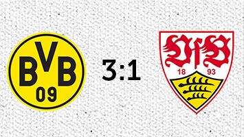 Borussia Dortmund - VfB Stuttgart 3:1 (Fotografik: STUGGI.TV)