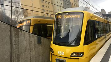 In unserem Video geht es um die U-Bahn-Linie U12. Ab dem 9.12.2017 gibt es auf der Strecke zwei neue Haltestellen. (Foto: STUGGI.TV/Goes)