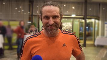 Wir haben den Profi-Kletterer AlWir haben den Profi-Kletterer Alexander Huber aus Stuttgart zum TRIFFT-Interview empfangen. (Foto: STUGGI.TV)