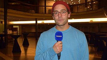 Sänger Axel Aki Bosse im Interview. Foto: STUGGI.TV/Kocijan