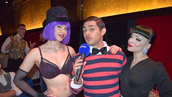"""Das Friedrichsbau Variete lädt zu """"Burlesque Affairs"""". (Foto: STUGGI.TV/Goes)"""
