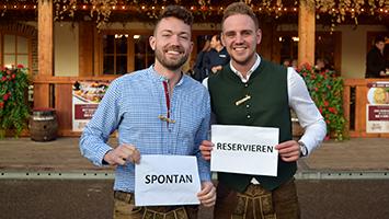 Cannstatter Volksfest: Reservieren oder spontan auf den Wasen? (Foto: STUGGI.TV)