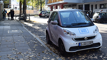 Car2go könnte bald mit dem Münchner Carsharing-Anbieter Drive Now fusionieren. (Foto: STUGGI.TV/Rau)