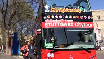 Die City Tour fährt jetzt auch zum Fernsehturm. Foto: STUGGI.TV/Goes