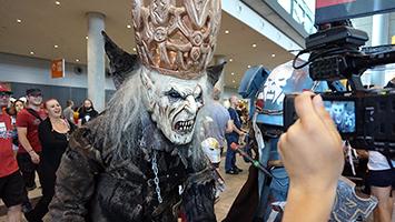 Die Comic Con 2018 auf der Landesmesse Stuttgart lockt Tausende Besucher. (Foto: STUGGI.TV)