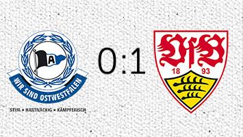 Arminia Bielefeld - VfB Stuttgart 0:1 (Fotografik: STUGGI.TV)