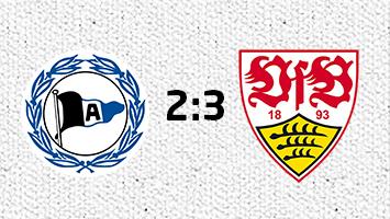 Arminia Bielefeld - VfB Stuttgart 2:3 (Fotografik: STUGGI.TV)