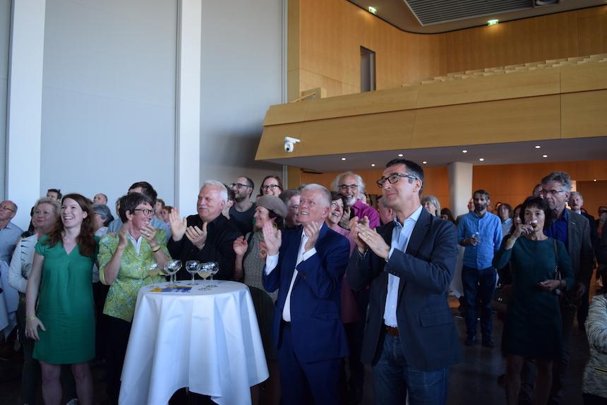 Die Grünen freuen sich über ihre gute Wahlprognose. (Foto: STUGGI.TV)