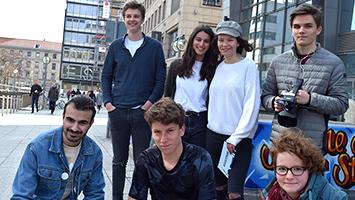 """Anlässlich der Kommunalwahl haben wir in unserer Reihe """"Deine Stimme zählt"""" junge Stuttgarter gefragt was ihnen in Stuttgart fehlt. (Foto: STUGGI.TV)"""