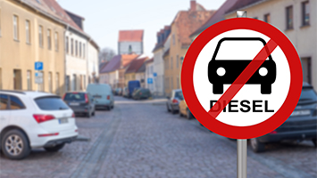 Diesel-Fahrverbot sorgt für Bürger-Wut im Stuttgarter Rathaus (Foto: Clipdealer)