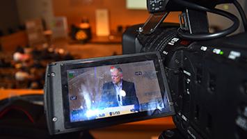 Fahrverbote ab 2018 in Stuttgart? Hier spricht Fritz Kuhn, Oberbürgermeister der Stadt Stuttgart (Foto: STUGGI.TV/Rau)