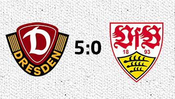 Dynamo Dresden - VfB Stuttgart 5:0 (Fotografik: STUGGI.TV)