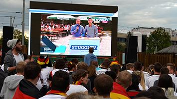 EM 2016 live in Stuttgart beim Public Viewing. (Fotoquelle: STUGGI.TV)