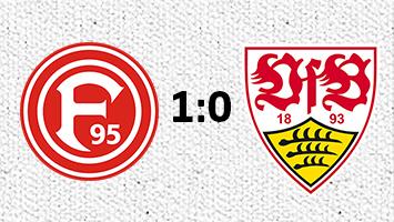 Fortuna Düsseldorf - VfB Stuttgart 1:0 (Fotografik: STUGGI.TV)