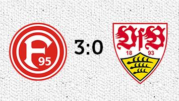 Fortuna Düsseldorf - VfB Stuttgart 3:0 (Fotografik: STUGGI.TV)