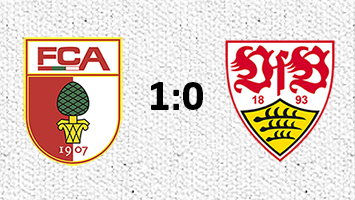 FC Augsburg - VfB Stuttgart 1:0 (Fotografik: STUGGI.TV/Rau)
