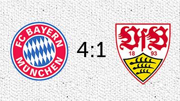 FC Bayern München - VfB Stuttgart 4:1 (Fotografik: STUGGI.TV)