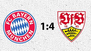 FC Bayern München - VfB Stuttgart 1:4 (Fotografik: STUGGI.TV)