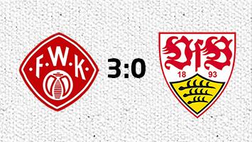 Würzburger Kickers - VfB Stuttgart 3:0 (Fotografik: STUGGI.TV)