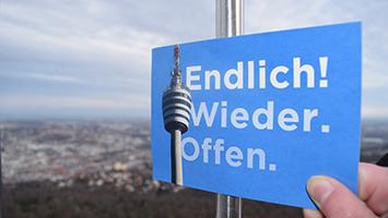 Der Fernsehturm Stuttgart hat seit dem 30. Januar 2016 endlich wieder geöffnet (Foto: STUGGI.TV/Rau)