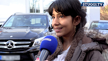Flüchtlinge gegen bowlen: Die Aktion würde vom Jugendrat Stuttgart organisiert. (Foto: STUGGI.TV)
