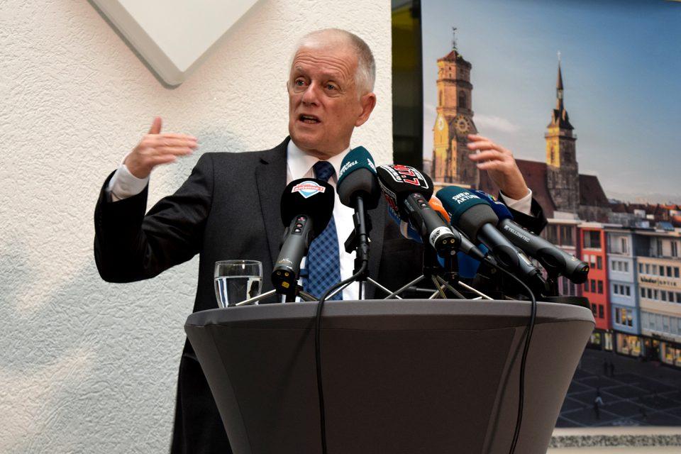 Überraschung im Rathaus: Fritz Kuhn tritt nicht erneut als OB-Kandidat für Stuttgart an