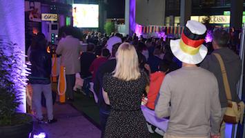 So war das Public Viewing im Amici. Foto: Goes/STUGGI.TV