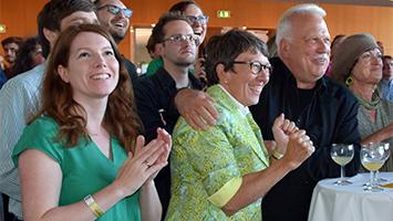 Gabriele Nuber-Schöllhammer von den Grünen ist die Stimmenkönigin der Kommunalwahl (Foto: STUGGI.TV)