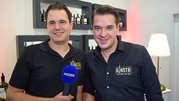 Wir haben die Erfinder des weltbesten Gin GinSTR zum TRIFFT-Interview empfangen. (Foto: STUGGI.TV)