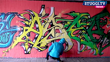 Graffiti: Wo darf ich Sprayen und wo nicht? Foto: STUGGI.TV/Goes