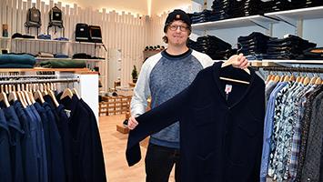 Öko-Mode muss nicht hässlich sein: Markus Beck hat Greenality gegründet. Foto: STUGGI.TV/Kheredmand