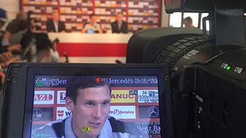 Hannes Wolf: Heute spielt der VfB bei Hannover 96. (Foto: STUGGI.TV/Marlies Goes)