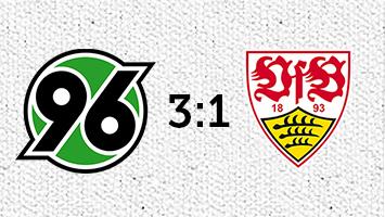 Hannover 96 - VfB Stuttgart 3:1 (Fotografik: STUGGI.TV)