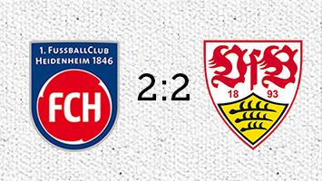 1. FC Heidenheim - VfB Stuttgart 2:2 (Fotografik: STUGGI.TV)