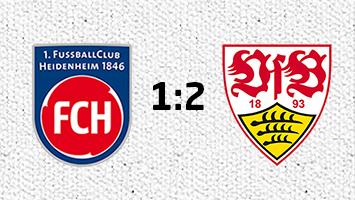 1. FC Heidenheim - VfB Stuttgart 1:2 (Fotografik: STUGGI.TV)