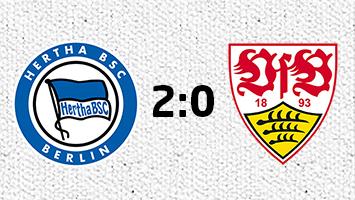 Hertha BSC Berlin - VfB Stuttgart 2:0 (Fotografik: STUGGI.TV)
