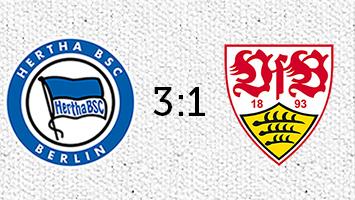 Hertha BSC Berlin - VfB Stuttgart 3:1 (Fotografik: STUGGI.TV)