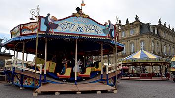 Am Mittwoch, 26. September 2018 startet das Historische Volksfest auf dem Schlossplatz in Stuttgart. (Foto: STUGGI.TV)