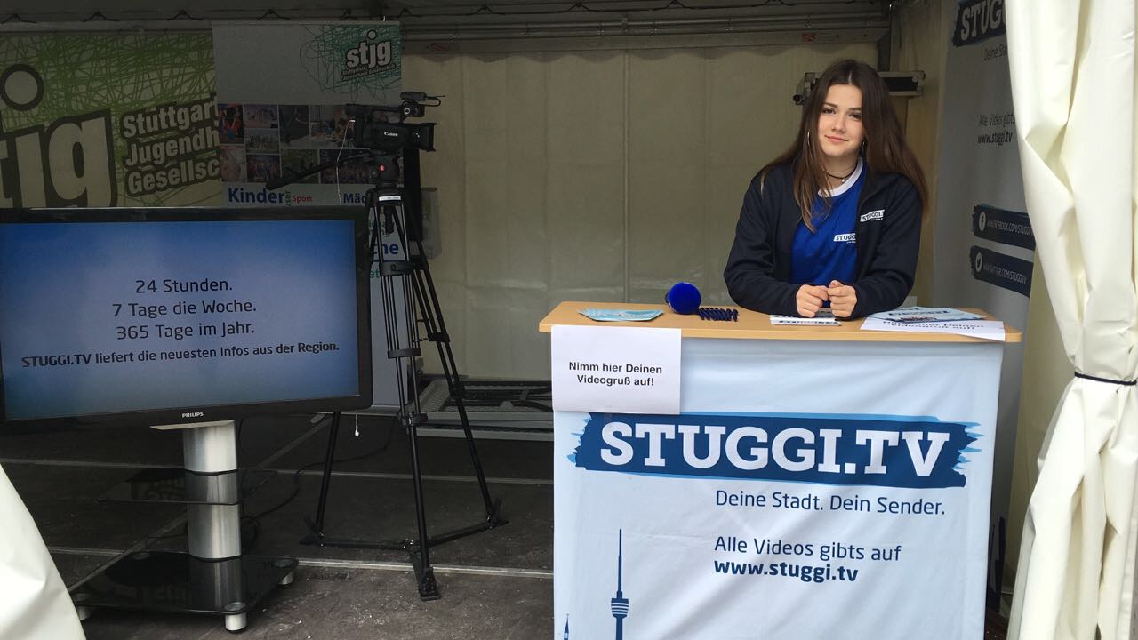 STUGGI.TV auf dem Trickfilm-Festival 2017 (Foto: STUGGI.TV)