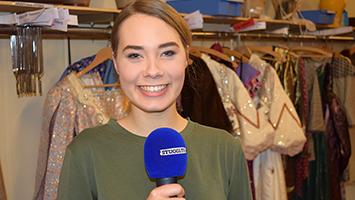 Wir haben die 24-jährige Hauptdarstellerin des Musicals Anastasia Judith Caspari zum Interview getroffen. (Foto: STUGGI.TV)