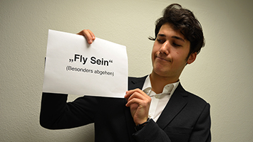 """Das neue Jugendwort des Jahres: """"Fly sein"""". Foto: Röhr/STUGGI.TV"""