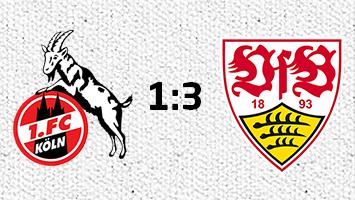 1. FC Köln - VfB Stuttgart 1:3 (Grafik: STUGGI.TV)